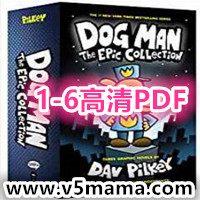 Dog Man Book Set From the Creator of Captain Underpants 1-6高清PDF