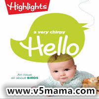 美国0-3岁幼儿英文杂志Highlights Hello Magazine April 2018 原生PDF