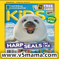 美国国家地理杂志儿童版National Geographic Kids PDF – December 2018-January 2019