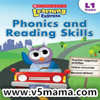 Scholastic Learning Express Phonics and Reading Skills 学乐自然拼读练习册英文原版PDF下载