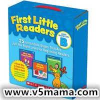 美国学乐Scholastic First Little Reader Level B PDF+MP3百度网盘下载