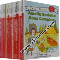 I can read 2 Amelia Bedelia 糊涂女佣高清PDF+MP3音频
