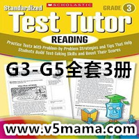 学乐阅读理解练习册Scholastic Standardized Test Tutor Reading G3-G5高清PDF下载