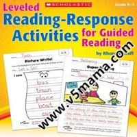 学乐阅读反馈练习册Reading Response Activities For Guided Reading GK-2