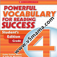 学乐小学高年级阅读理解练习册Powerful Vocabulary for Reading Success Student's Edition G4-G6