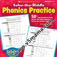 Solve The Riddle Phonics Practice 英文原版自然拼读练习册