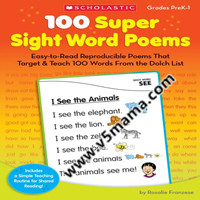学乐自然拼读Teaching Resource 100 Super Sight Word Poems