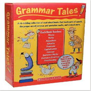 Scholastic学乐出版 Grammar Tales + 配套Teaching Guide  大全套