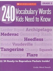 240 Vocabulary Words Kids Need to Know G5 高清PDF下载