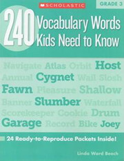240 Vocabulary Words Kids Need to Know G3 高清PDF下载