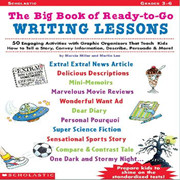 Scholastic 学乐英文原版写作Big Book of Ready to go Writing Lessons grade 3-6
