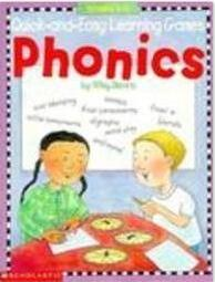 美国小学生自然拼读游戏书Quick & Easy Learning Games - PHONICS Grades 1-3