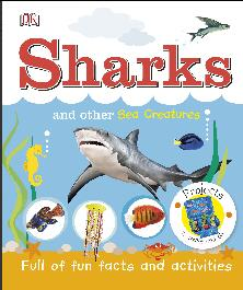 DK 儿童鲨鱼百科全书 DK Sharks and Other Sea Creatures (DK Publishing) (2017)